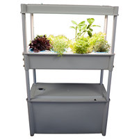 GP0313 Salad Grower with Tank and Light White